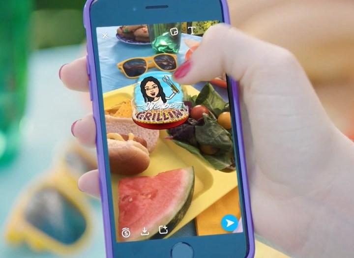 Learn how to use Bitmoji in Snapchat.