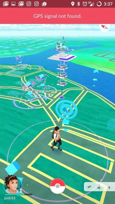 Pokemon Go GPS NOT FOUND