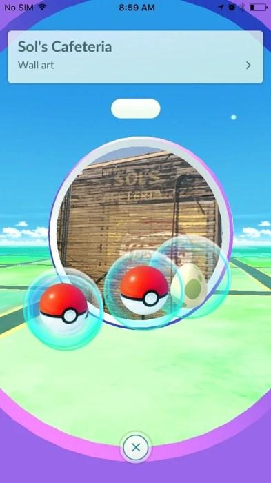 Pokemon go stop
