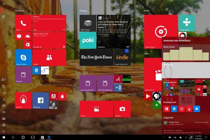 Surface Pro 4 Windows 10 Anniversary Update (3)
