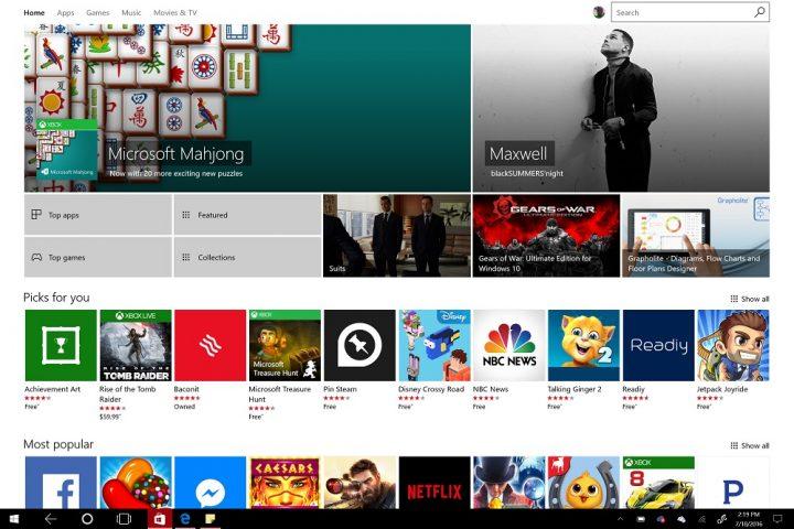 Surface Pro 4 Windows 10 Anniversary Update (5)