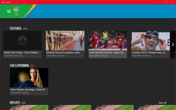 nbc sports live extra windows 10