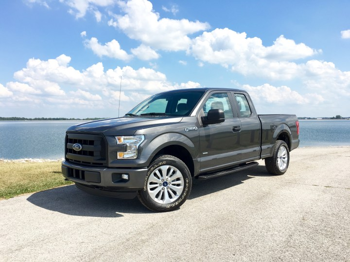 This is the 2016 Ford F-150 Supercab XL.