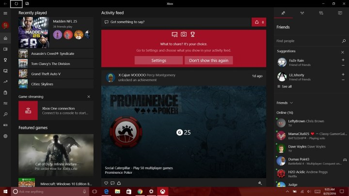 How to Stream Xbox One Games to Windows 10 (3)