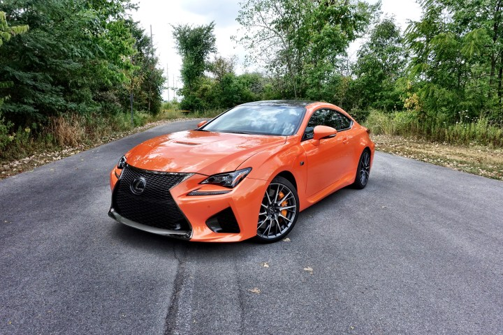 The Lexus RC F demands attention thanks to aggressive styling and a throaty exhaust.