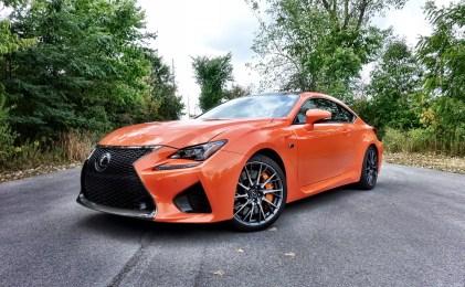 Lexus RC F Review Performance - 9