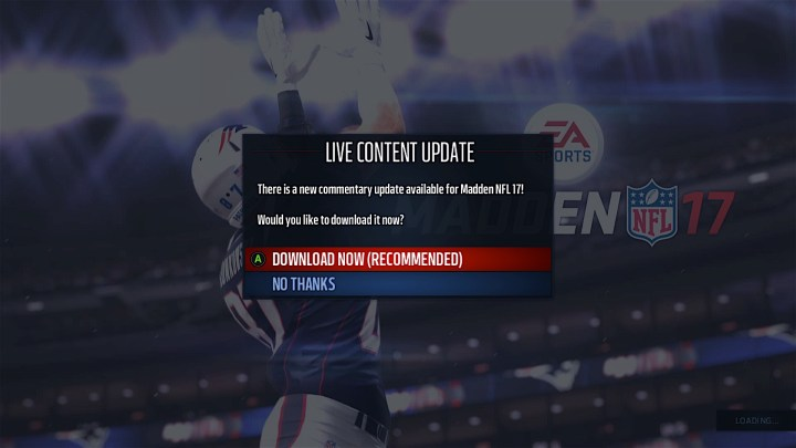 There are some hotfixes but you'll need to wait for a full Madden 17 patch.