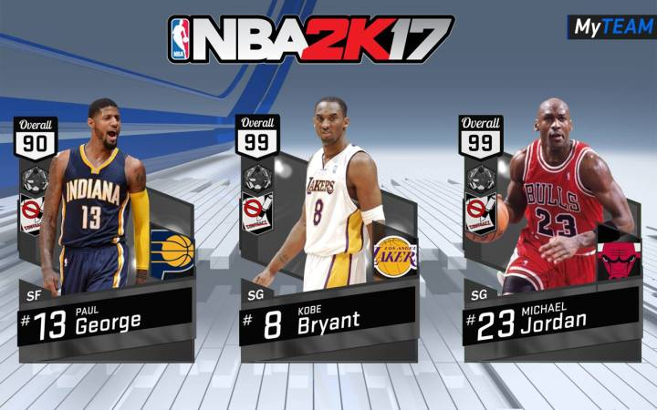 NBA 2K17 Features: MyTeam Cards