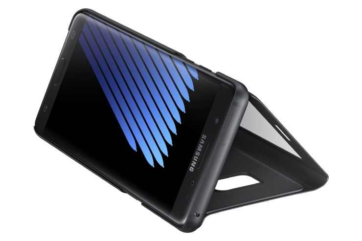 Samsung's Official S-View Flip Kickstand Case