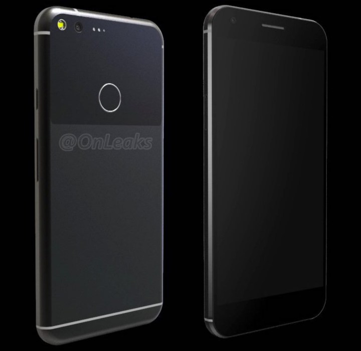 This is the Google Pixel XL