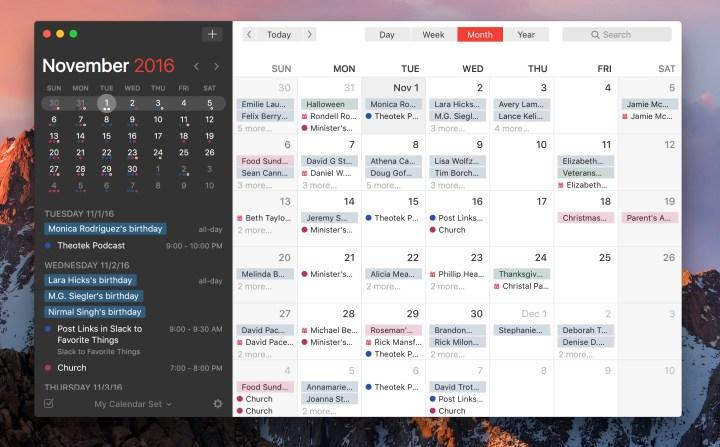 fantastical for mac full calendar window