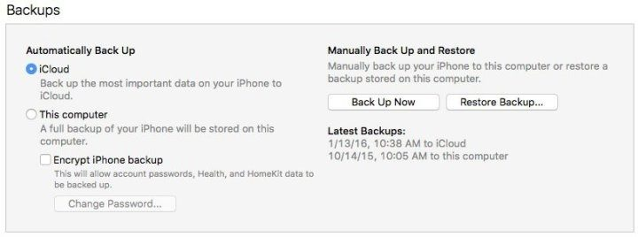 Make sure you have a backup before you start the iOS 10.3.2 downgrade to iOS 10.3.1.