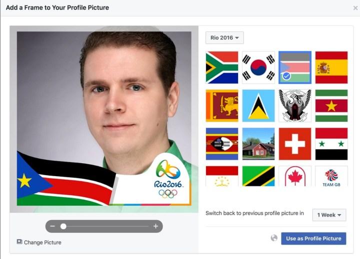 olympics facebook