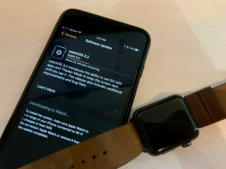 How to install watchOS updates.