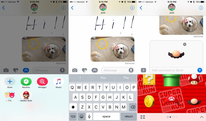 Install IMessage apps from inside Messages in iOS 10.