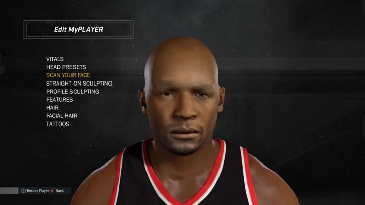 NBA 2K17 My Player Face Scanning (19)