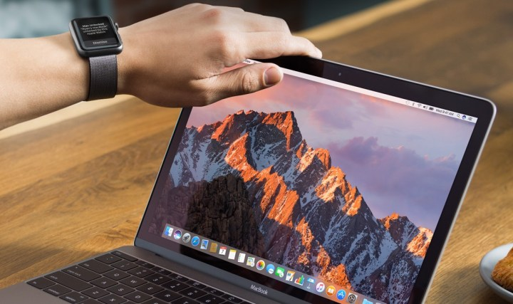 Auto unlock your Mac with an Apple Watch on macOS Sierra.