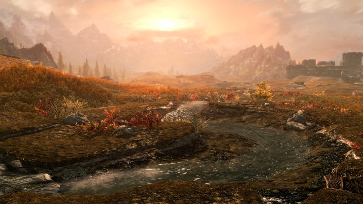 Skyrim Special Edition in native 4K.