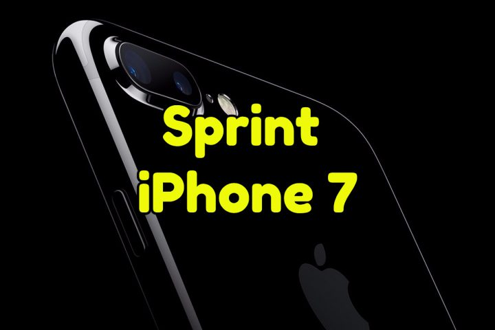 Sprint iPhone 7 Plans