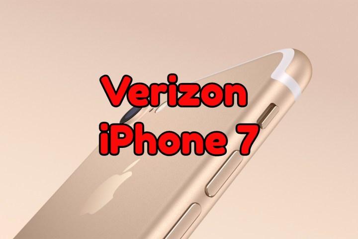 Verizon iPhone 7 Plans
