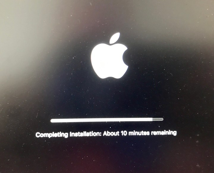 There are some macOS Sierra installation problems.