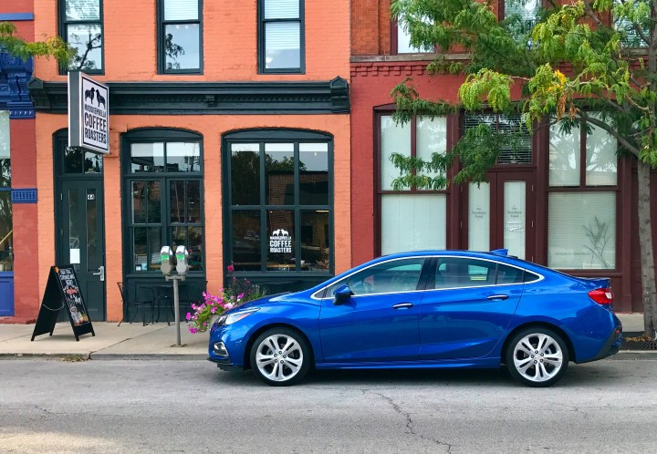 The 2016 Chevy Cruze looks good and delivers a lot of technology in a fuel efficient package.