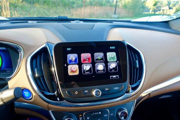 The Chevy Volt has all the technology you want, and some you didn't even know existed like a hotspot and remote start from your phone.