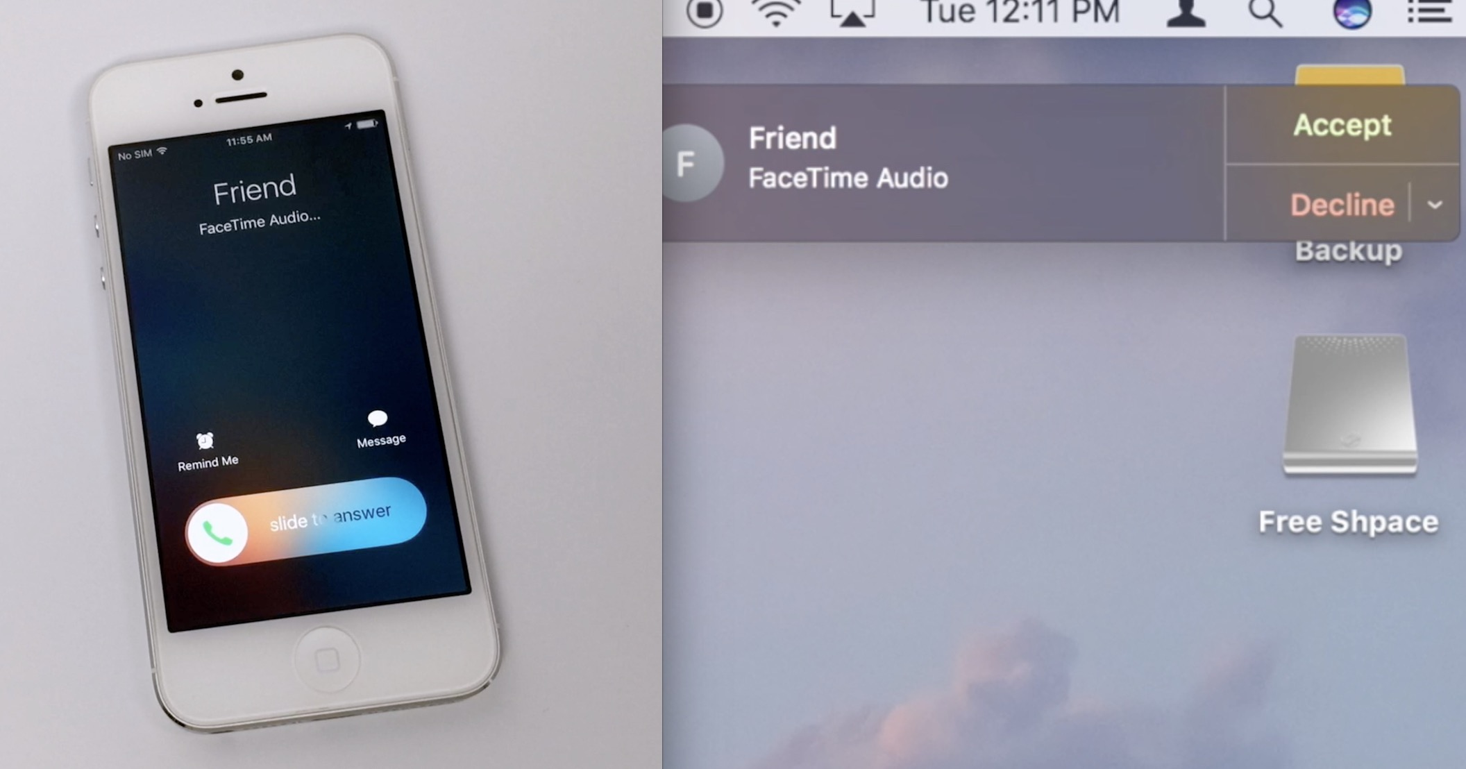 can i  text messages from my iphone to my mac