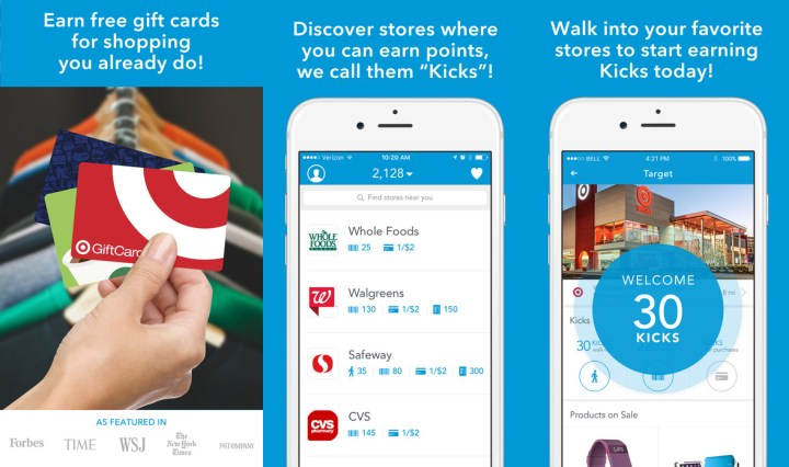 Shopkick - Earn Gift Cards While You Shop