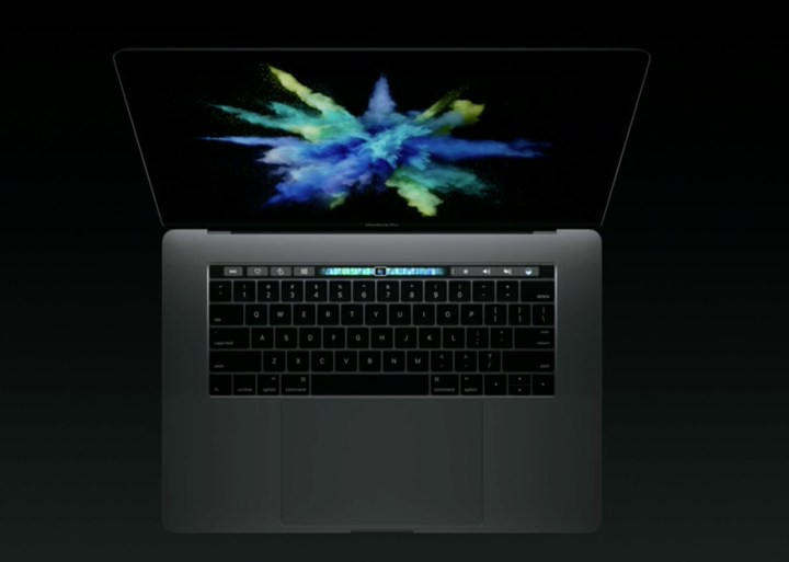 There is no MacBook Pro escape button on the physical keyboard.