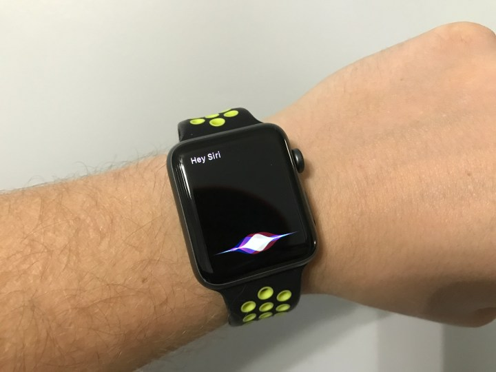 Use Siri on the Apple Watch