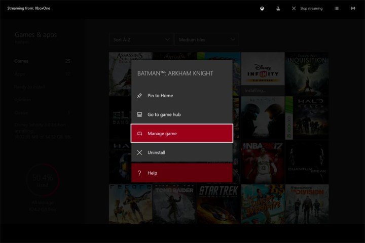 how to install xbox one