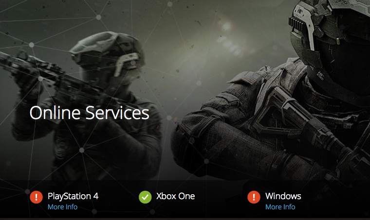 Mw2 matchmaking server down