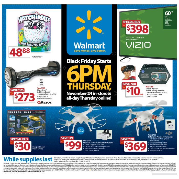 There is no more 1 hour in stock guarantee in the Walmart Black Friday 2016 ad.