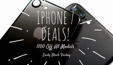 Early Black Friday 2016 deals cut $100 off the iPhone 7 and iPhone 7 Plus.