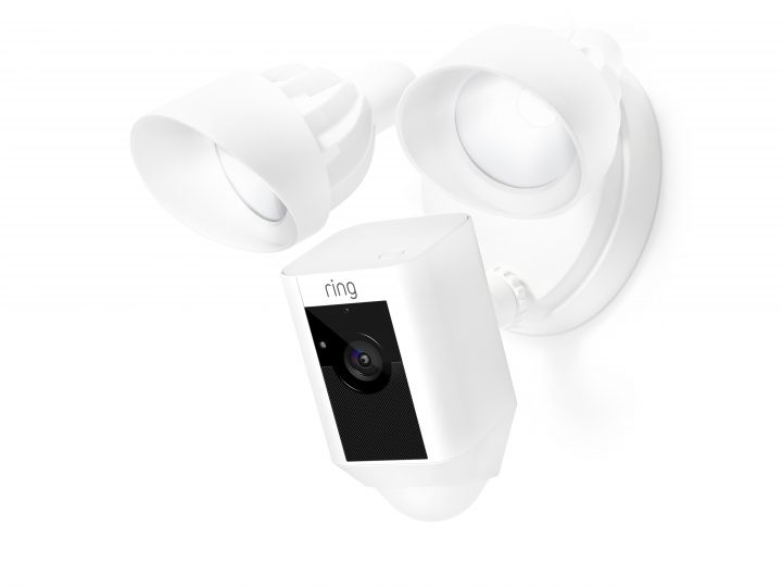 Install the Ring Floodlight Cam by yourself using the existing wires for your floodlight.