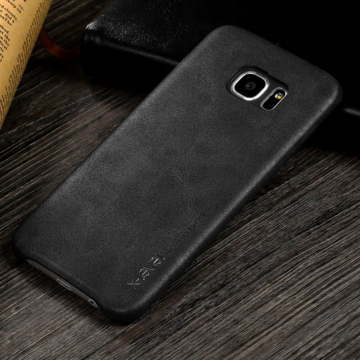 X-Level PU Leather Galaxy S7 Edge Case