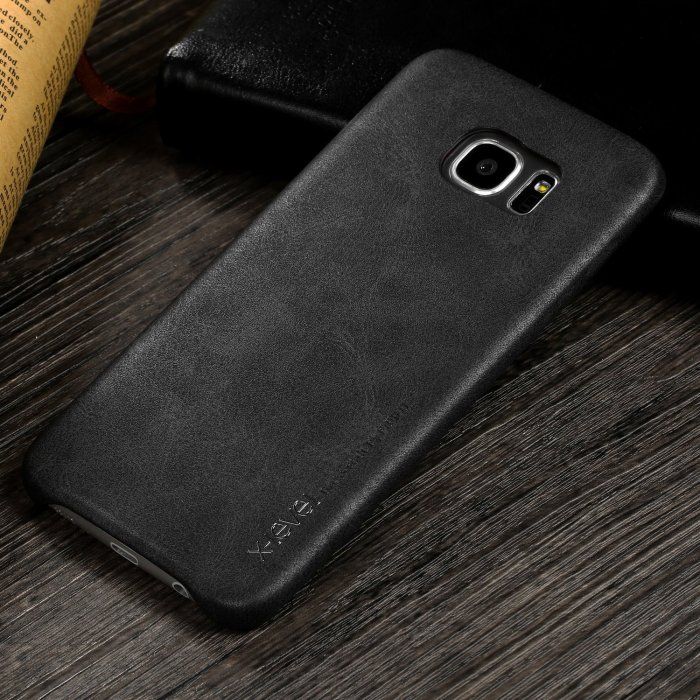X-Level PU Leather Galaxy S7 Edge Case