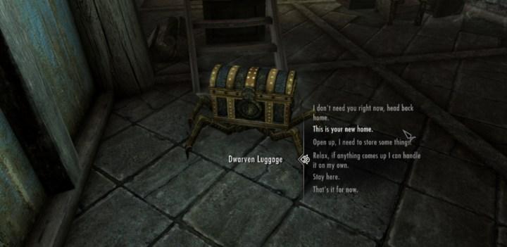 Dwarven Luggage