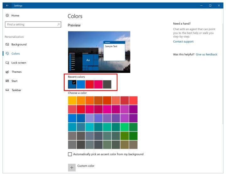 windows 10 creators update themes