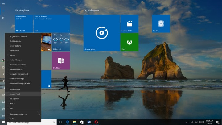 Control Panel in Windows 1003