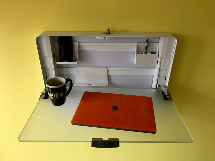 Ergotronhome Workspace Hub27 Review Wall Mount Sit Stand Desk