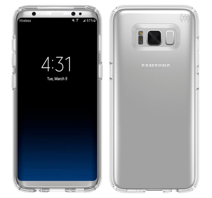 Galaxy S8 vs LG G6: Display