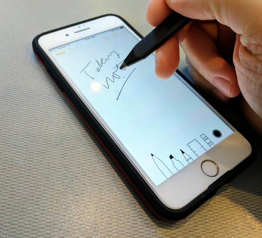 adonit jot snap stylus inking