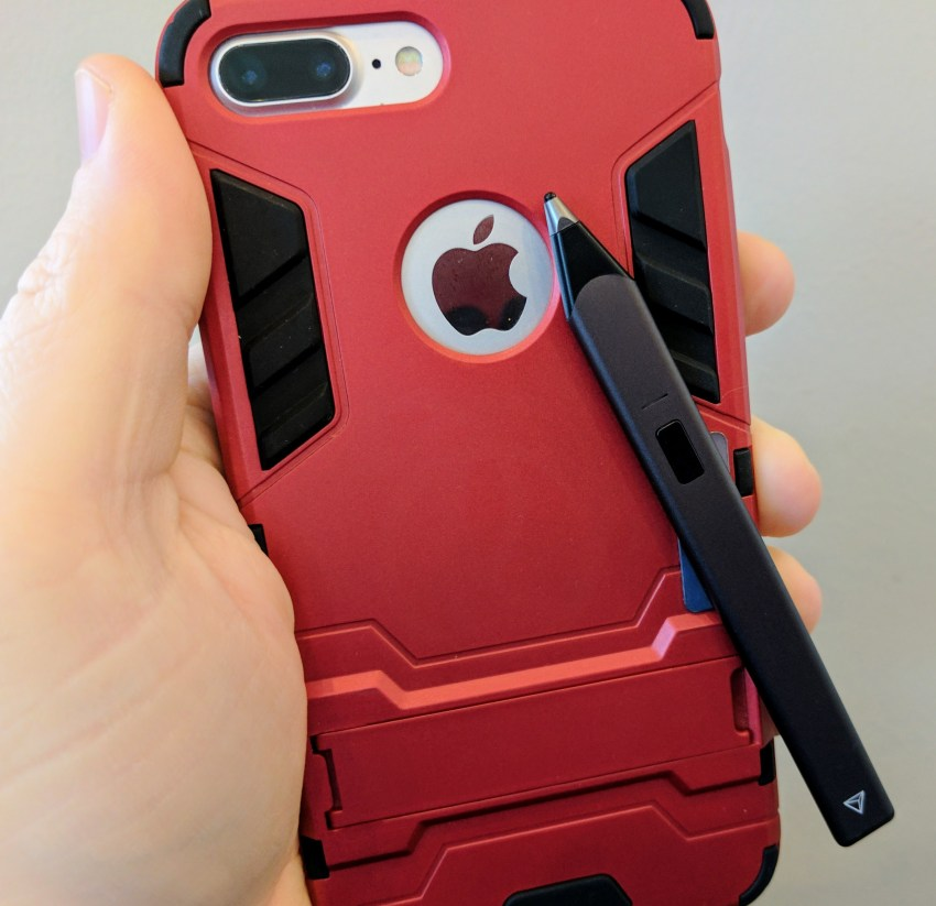 adonit jot snap stylus stuck to case