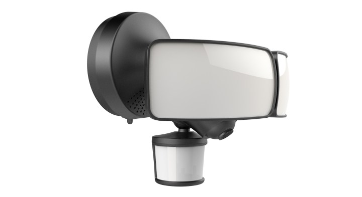 The smart floodlight with Alexa integration and a WiFi camera.