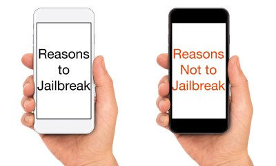 Here are the reasons to jailbreak and the reasons not to jailbreak.