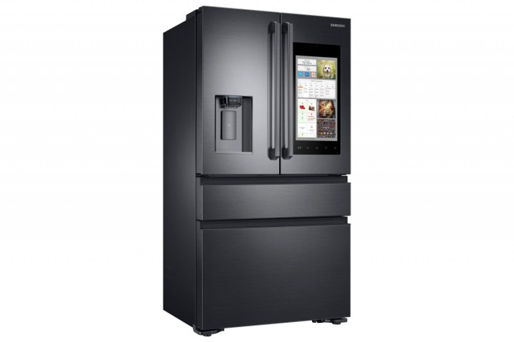 Samsung's new smart fridge.