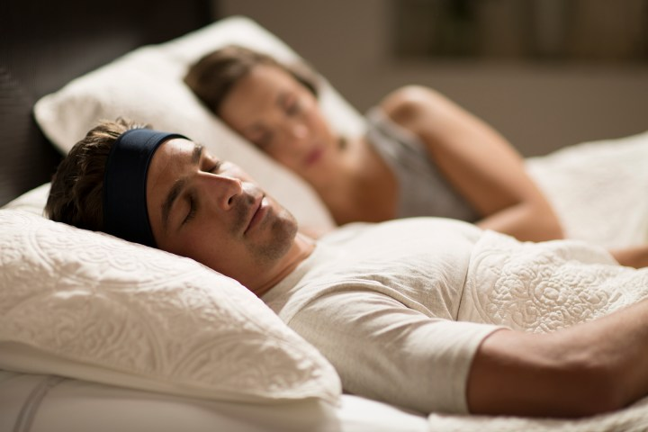 SleepPhones let you listen without wires.