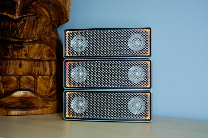 The aiFi stackable Bluetooth speakers impress.